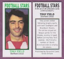 Sheffield United Tony Field